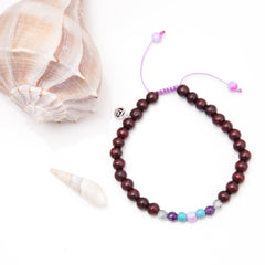 Bliss Mala Anklet by Tiny Devotions