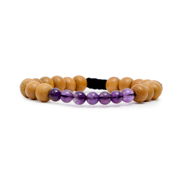 Crown Chakra Mala Bracelet by Tiny Devotions
