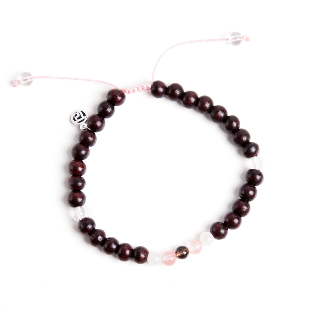 Mama Mala Anklet - Tiny Devotions Gemstone 108 Mala Beads Intentional Jewelry