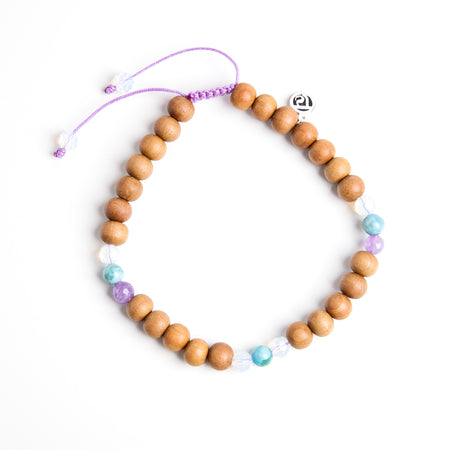 Mermaid Mala Anklet - Mala Beads Meditation Accessories and Yoga Jewelryby Tiny Devotions