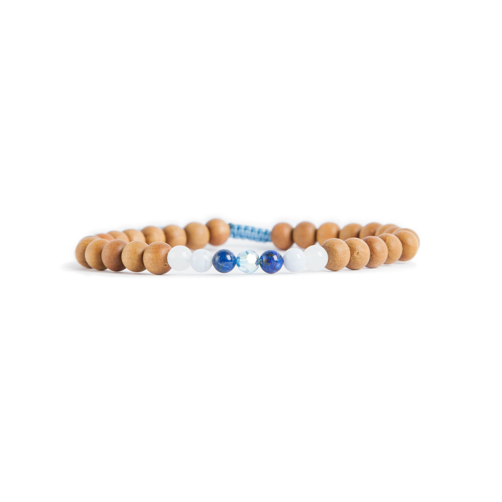 Ocean Mala Anklet by Tiny Devotions