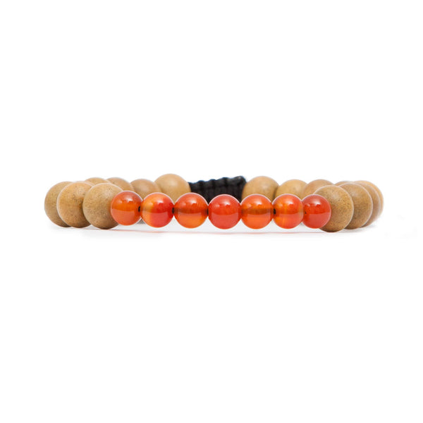 Sacral Chakra Mala Bracelet by Tiny Devotions