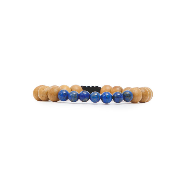 Third Eye Chakra Mala Bracelet by Tiny Devotions