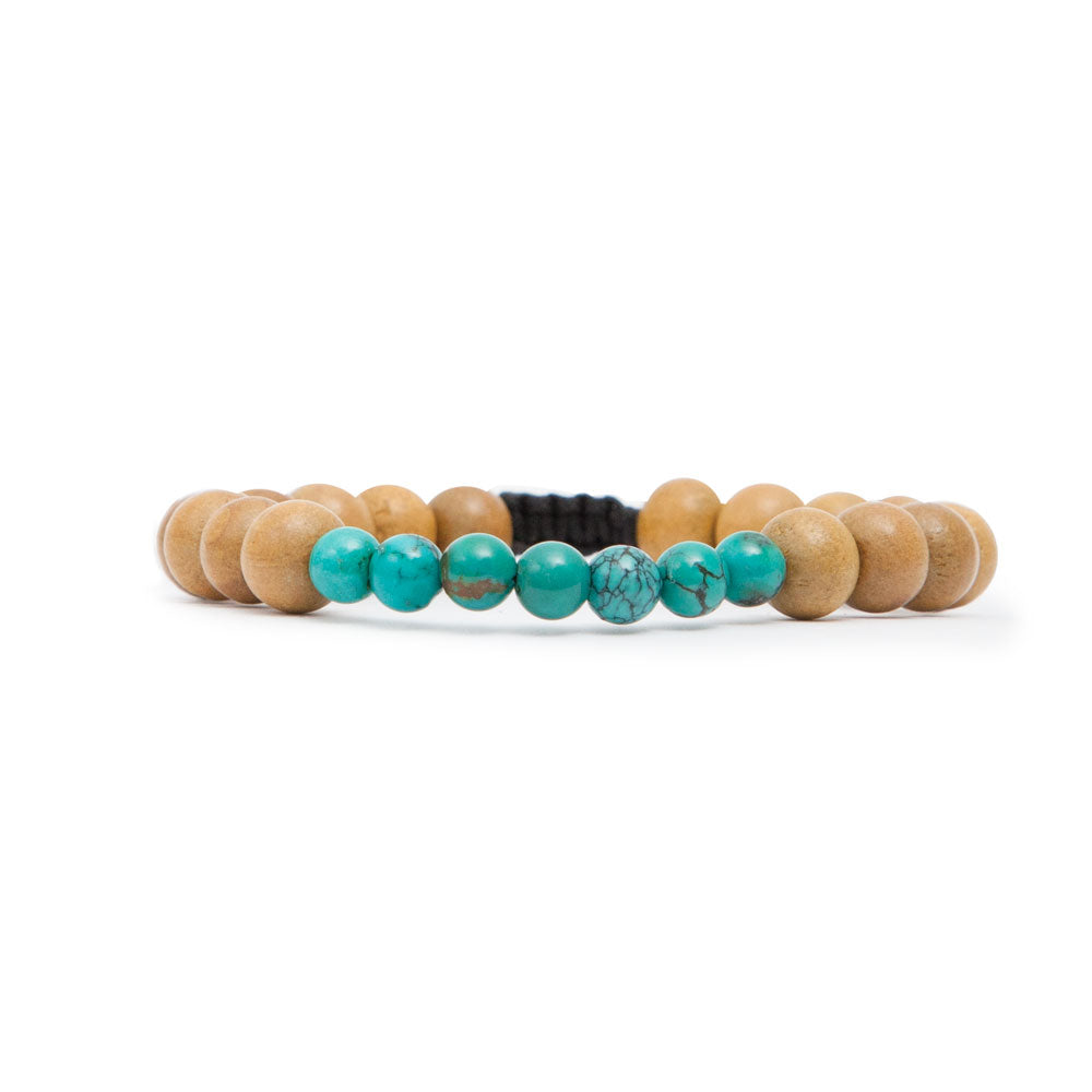 Throat Chakra Mala Bracelet - Mala Beads Meditation Accessories and Yoga Jewelry by Tiny Devotions