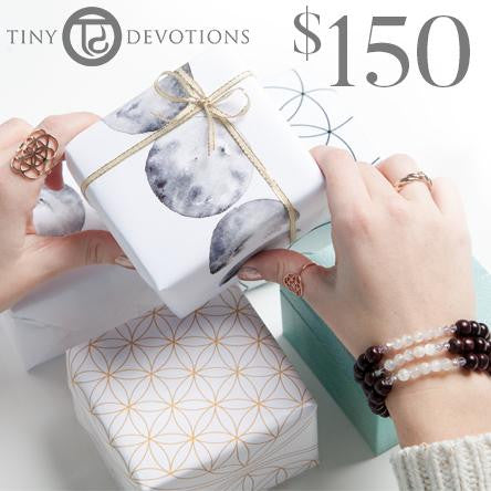 Gift Cards - Tiny Devotions Gemstone 108 Mala Beads Intentional Jewelry