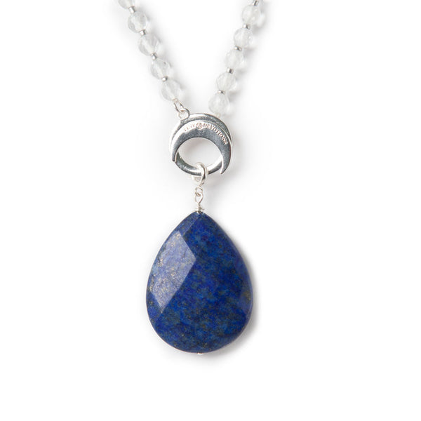 Lapis Intuition Amplifier - Silver by Tiny Devotions