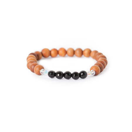 Black Onyx Mala Bracelet - Mala Beads Meditation Accessories and Yoga Jewelryby Tiny Devotions