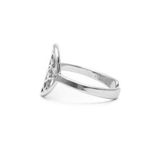 Tiny Seed of Life Ring - Silver by Tiny Devotions