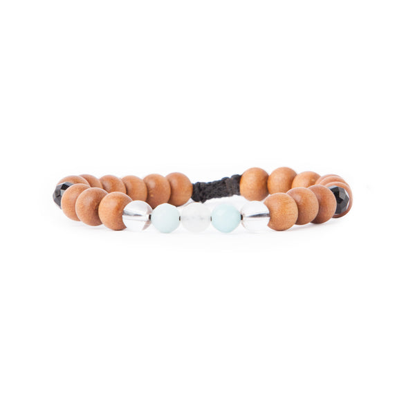 Trust the Process Mala Bracelet by Tiny Devotions