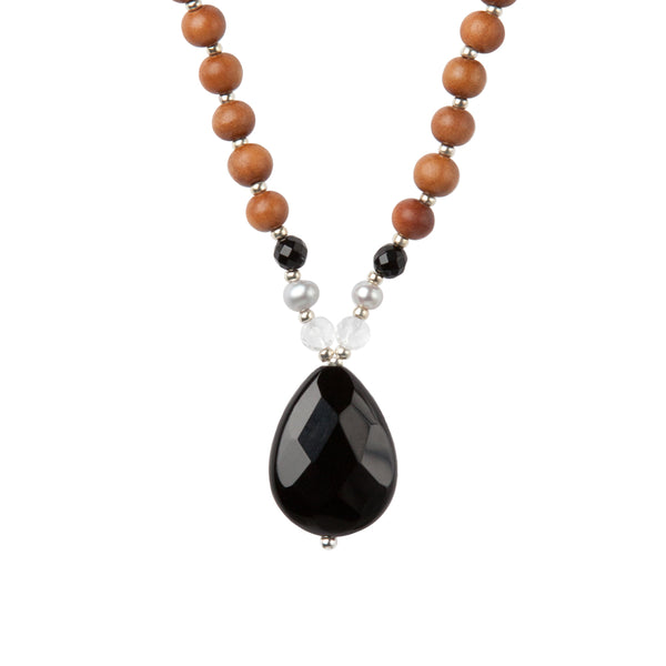 Black Onyx Mala by Tiny Devotions
