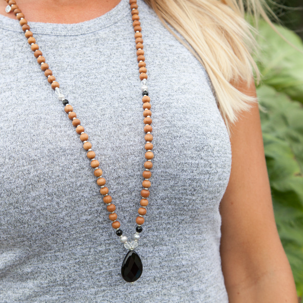 Strength Mala - Mala Beads Meditation Accessories and Yoga Jewelry by Tiny Devotions