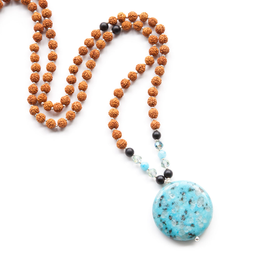 Adventure Mala - Tiny Devotions Gemstone 108 Mala Beads Intentional Jewelry