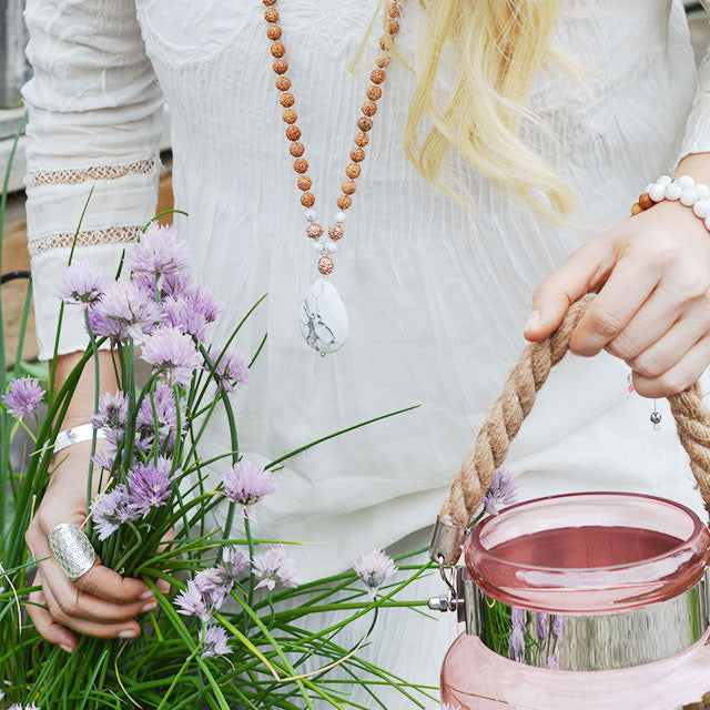 Bloom Mala - Mala Beads Meditation Accessories and Yoga Jewelry by Tiny Devotions