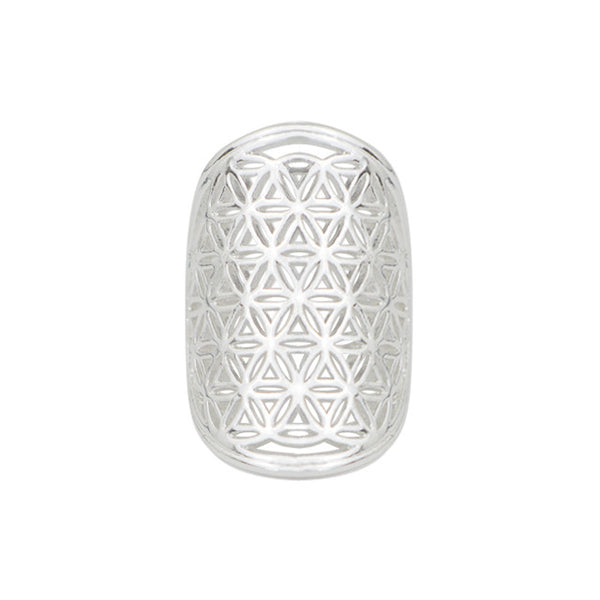 Flower of Life Ring - Silver