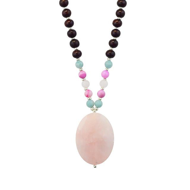 Let Love In Mala - Tiny Devotions Gemstone 108 Mala Beads Intentional Jewelry