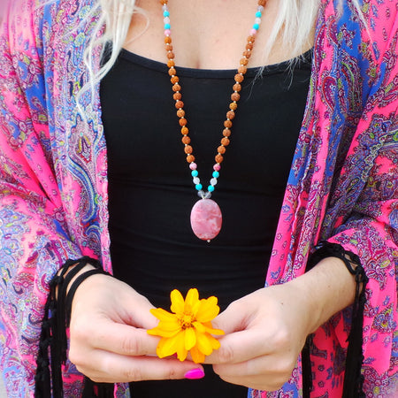 Shakti Mala - Mala Beads Meditation Accessories and Yoga Jewelryby Tiny Devotions