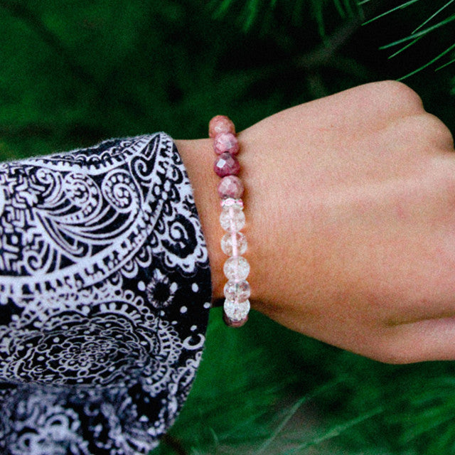The Wolf - Mala Beads Meditation Accessories and Yoga Jewelry by Tiny Devotions