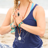 Bloom Mala - Tiny Devotions Gemstone 108 Mala Beads Intentional Jewelry
