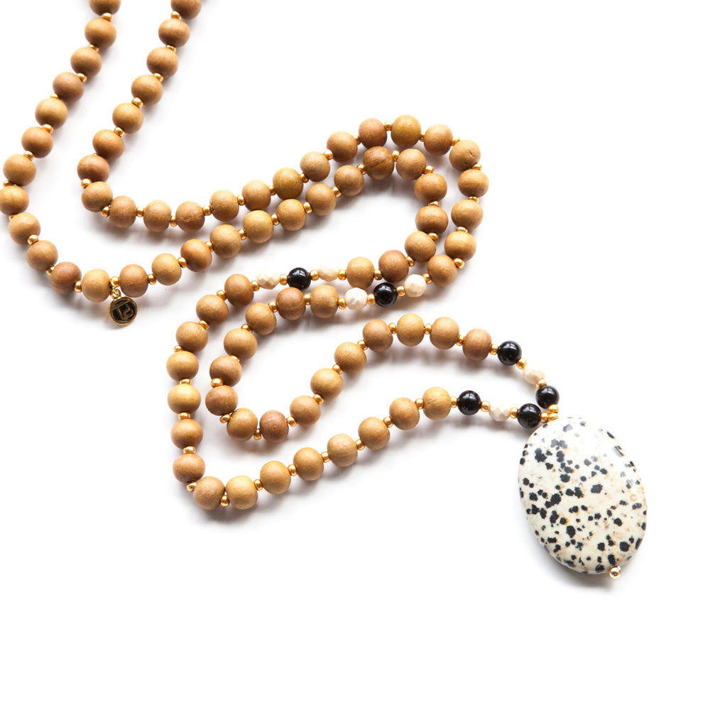 Progress Mala - Tiny Devotions Gemstone 108 Mala Beads Intentional Jewelry