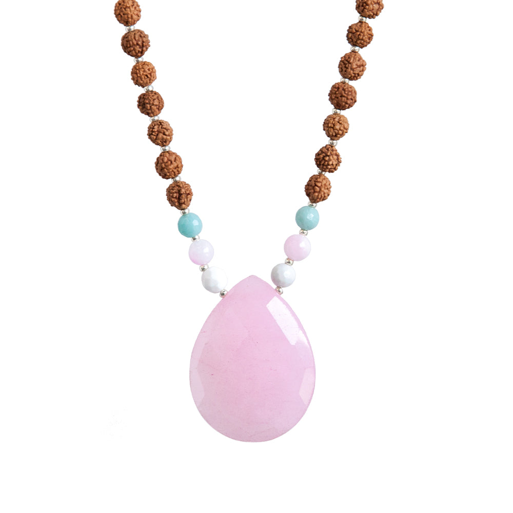 Purpose Mala - Tiny Devotions Gemstone 108 Mala Beads Intentional Jewelry