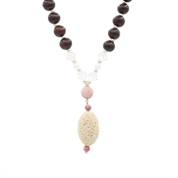 Soul Sister Mala - Tiny Devotions Gemstone 108 Mala Beads Intentional Jewelry