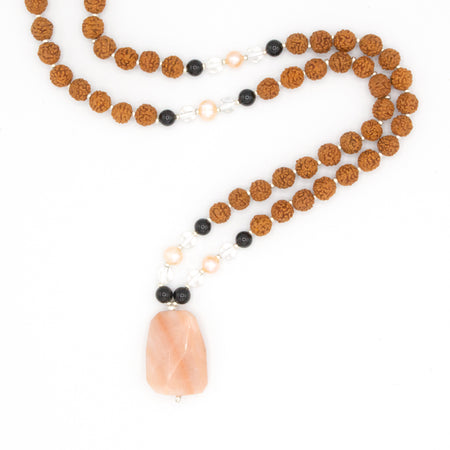 Open Heart Mala - Mala Beads Meditation Accessories and Yoga Jewelryby Tiny Devotions