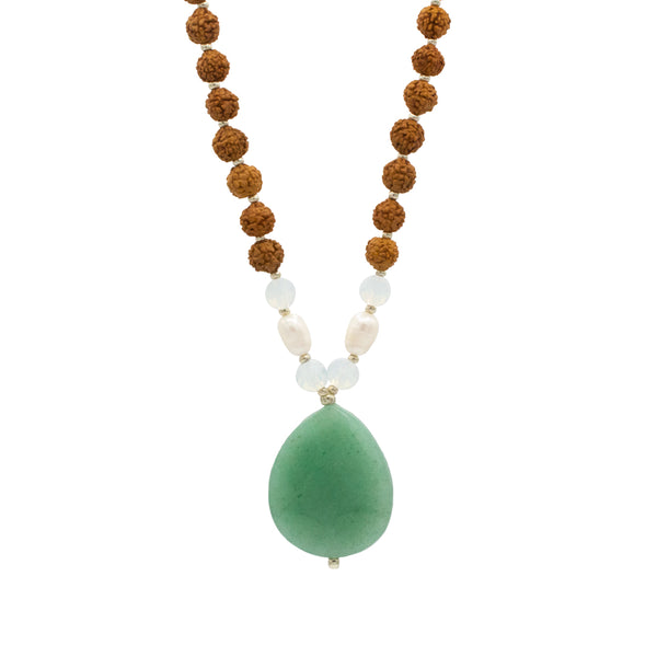 Unity Mala - Tiny Devotions Gemstone 108 Mala Beads Intentional Jewelry