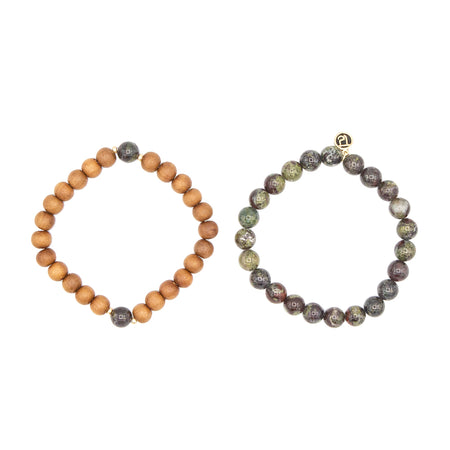 Be Loved Stack - Mala Beads Meditation Accessories and Yoga Jewelryby Tiny Devotions