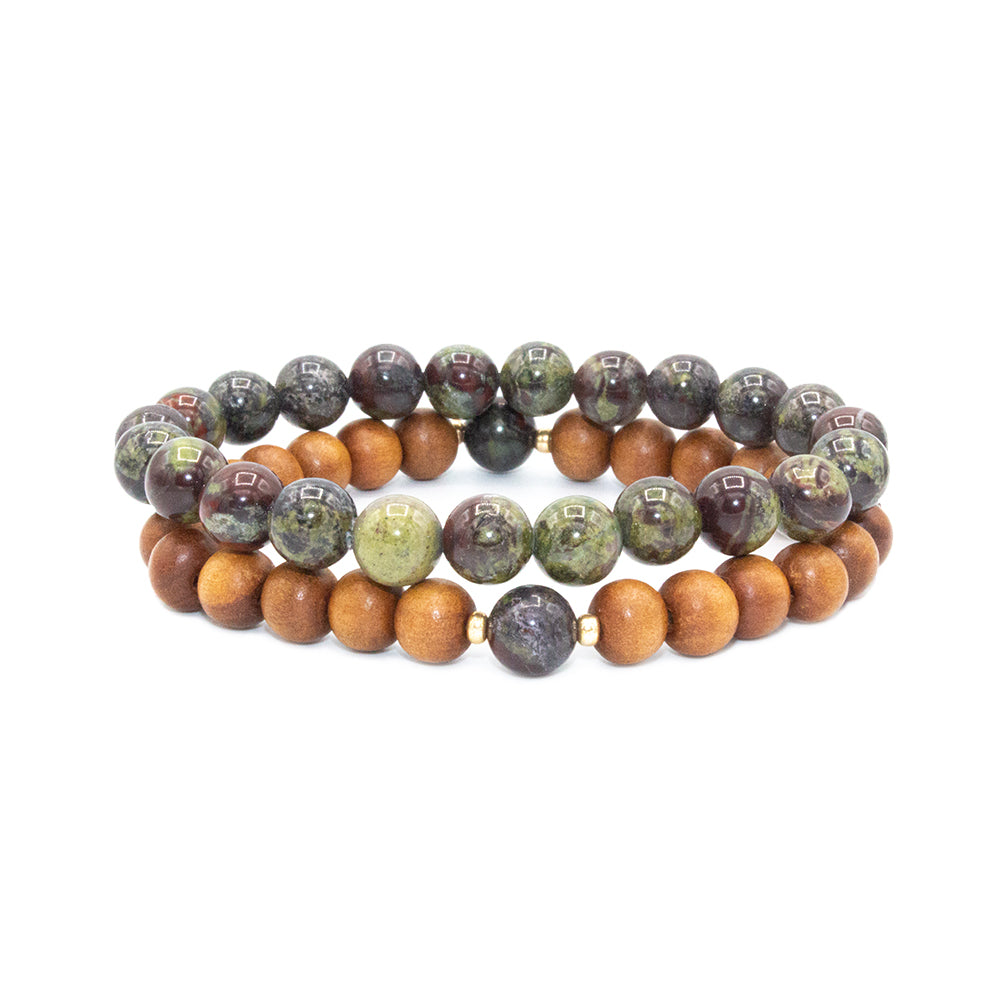 Be Loved Stack - Tiny Devotions Gemstone 108 Mala Beads Intentional Jewelry