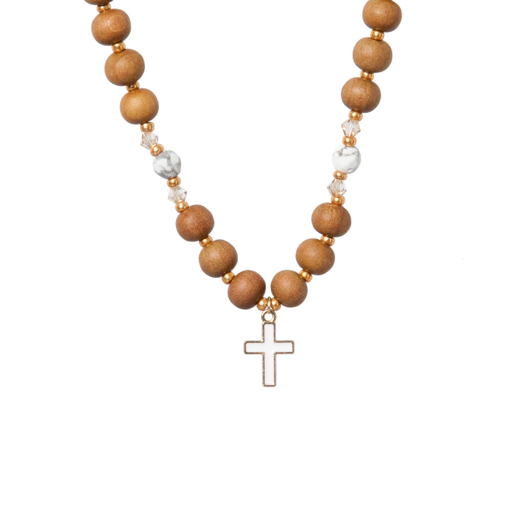 Faith - Christian Mala by Tiny Devotions
