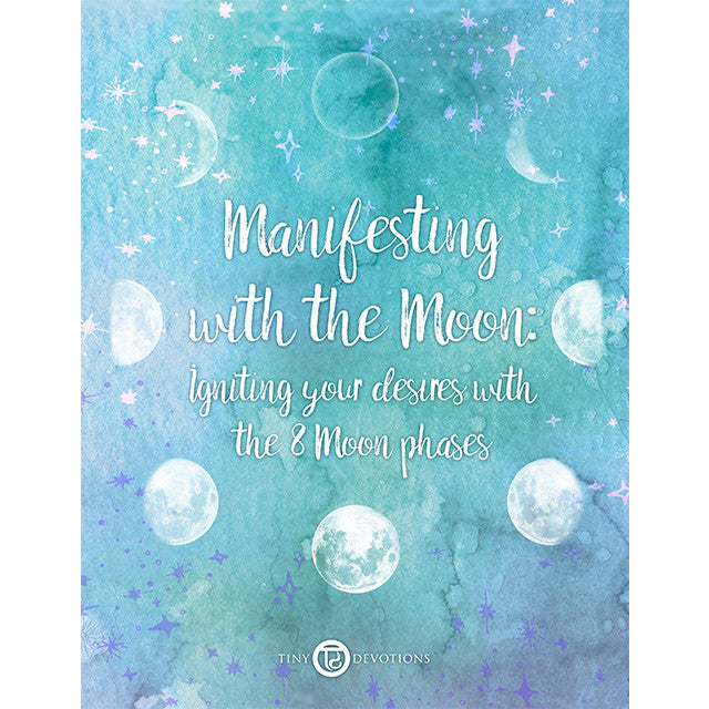 Manifesting with the Moon E-Book - Tiny Devotions Gemstone 108 Mala Beads Intentional Jewelry