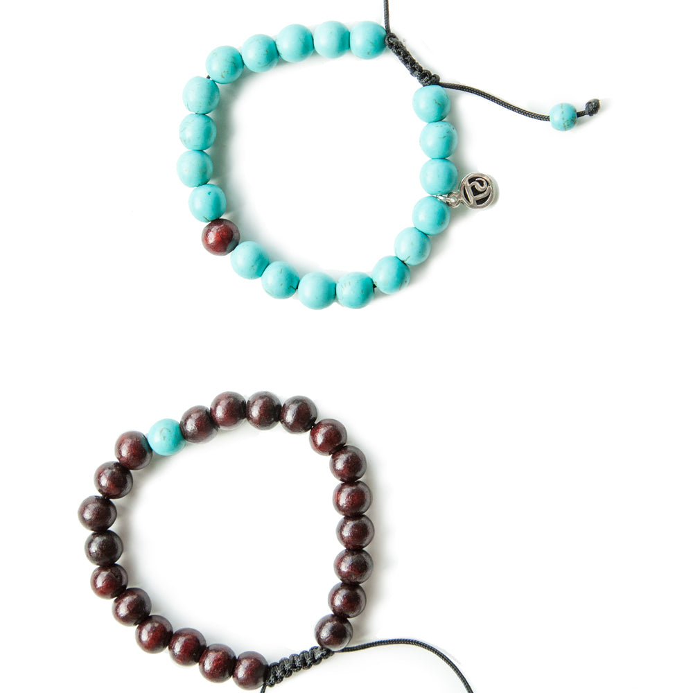 Attuned Mindset Stack - Tiny Devotions Gemstone 108 Mala Beads Intentional Jewelry