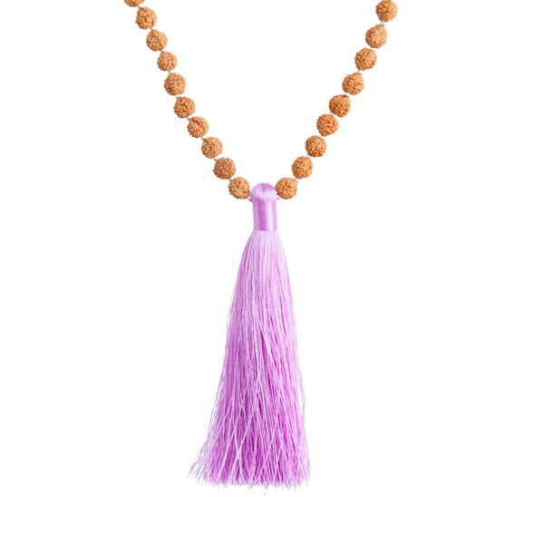 Devotion Rudraksha Mala by Tiny Devotions