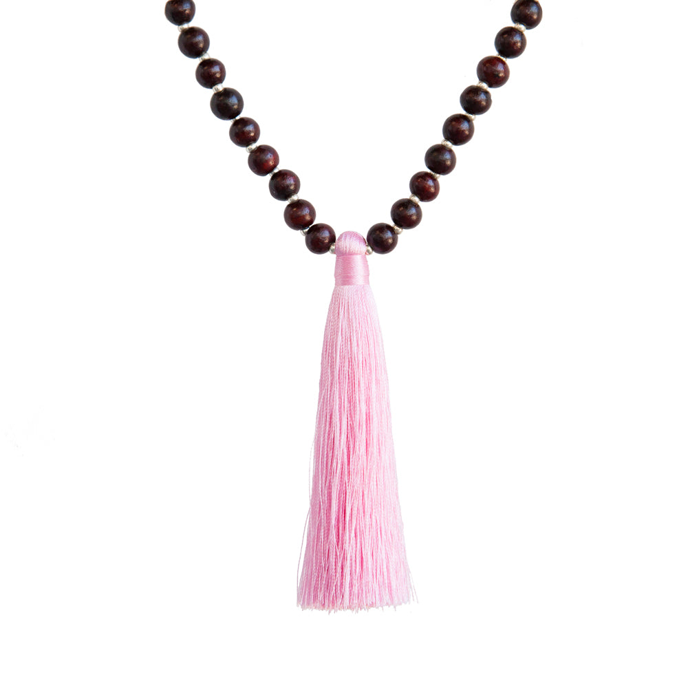 Harmony Rosewood Mala - Mala Beads Meditation Accessories and Yoga Jewelry by Tiny Devotions