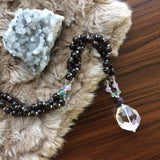Breakthrough Mala - Tiny Devotions Gemstone 108 Mala Beads Intentional Jewelry
