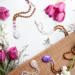 Cherished + Adored Mala by Tiny Devotions
