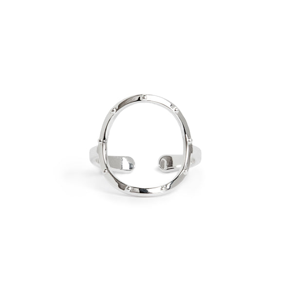 Infinite Meditation Ring - Silver