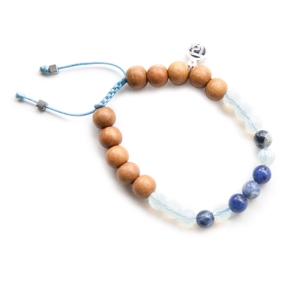 Live Freely Mala Bracelet - Mala Beads Meditation Accessories and Yoga Jewelry by Tiny Devotions