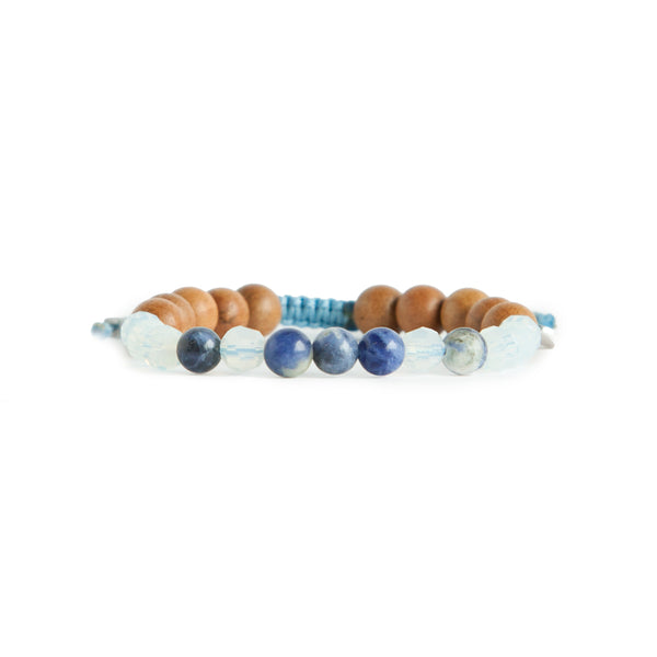 Live Freely Mala Bracelet by Tiny Devotions