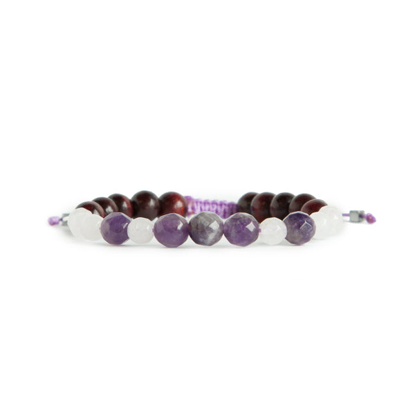 Live Spiritually Mala Bracelet by Tiny Devotions