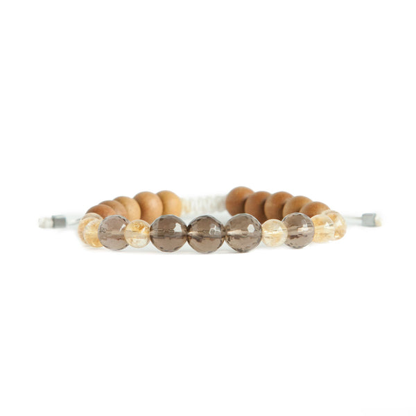 Live Abundantly Mala Bracelet by Tiny Devotions