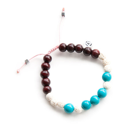 Live Intuitively Mala Bracelet - Mala Beads Meditation Accessories and Yoga Jewelryby Tiny Devotions