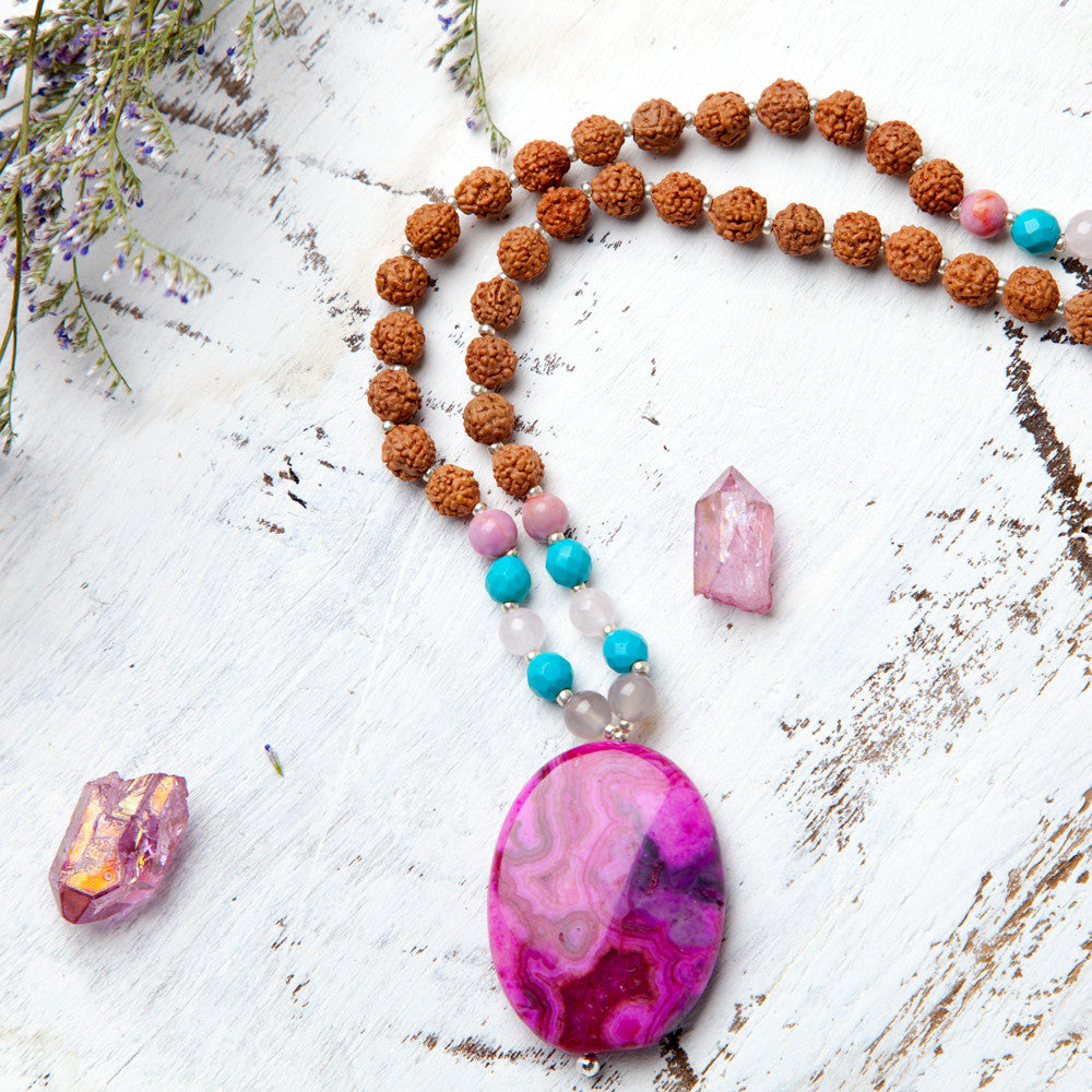 Shakti Mala - Mala Beads Meditation Accessories and Yoga Jewelry by Tiny Devotions