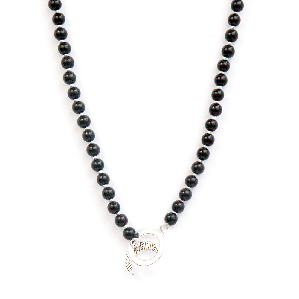 Black Obsidian Limitless Mala by Tiny Devotions