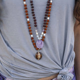 Empowerment Mala - Tiny Devotions Gemstone 108 Mala Beads Intentional Jewelry
