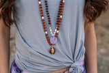 Explore Mala - Tiny Devotions Gemstone 108 Mala Beads Intentional Jewelry