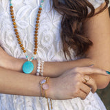 Patience Mala - Tiny Devotions Gemstone 108 Mala Beads Intentional Jewelry