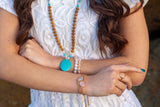 Embody Love Bracelet - Mala Beads Meditation Accessories and Yoga Jewelryby Tiny Devotions