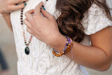 Success Mala Bracelet - Tiny Devotions Gemstone 108 Mala Beads Intentional Jewelry