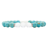 Purity Mala Bracelet - Tiny Devotions Gemstone 108 Mala Beads Intentional Jewelry